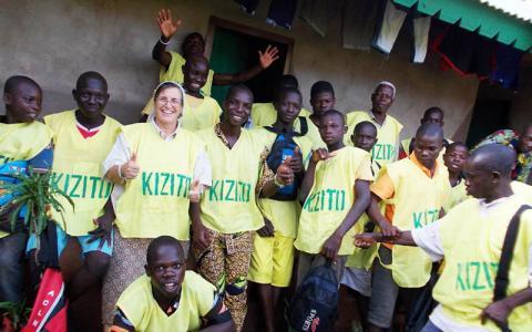 Reinserció d'infants ex-soldat a Berberati. República Centreafricana