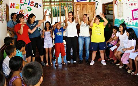 Centre Obert Mitanwera Rekove a Horqueta. El Paraguai
