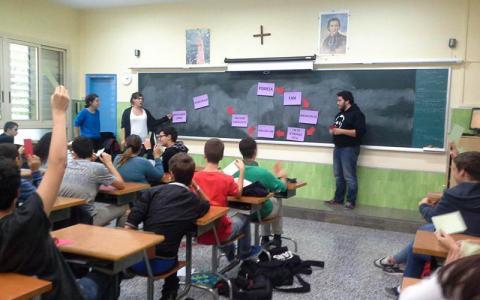 Taller de SED a Maristes Sants-Les Corts a Barcelona. Catalunya